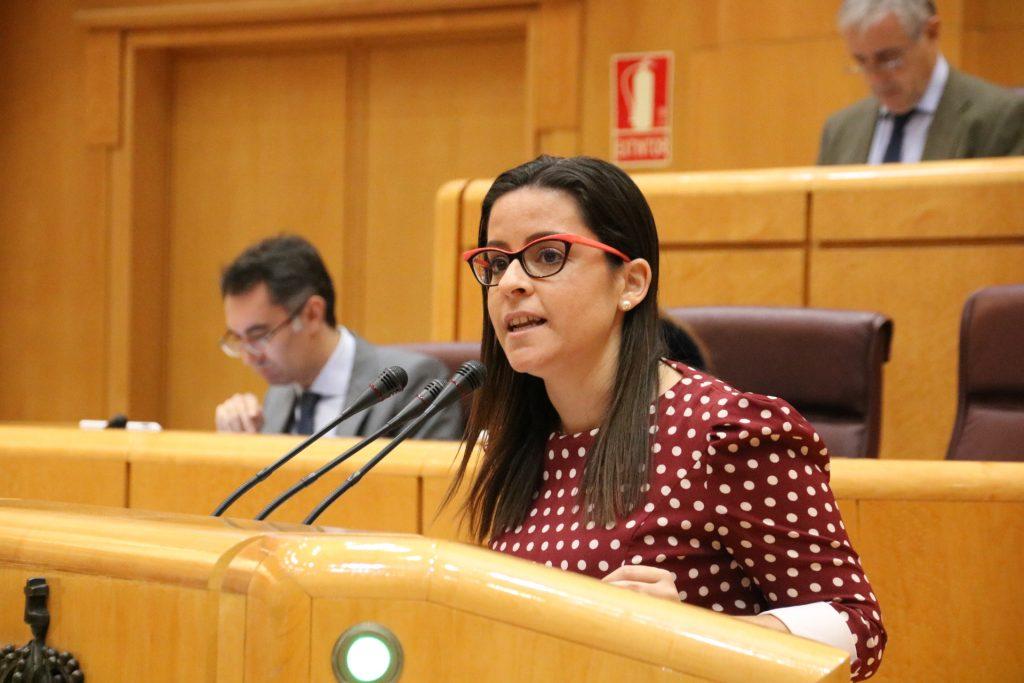 Yaiza Castilla en el Senado