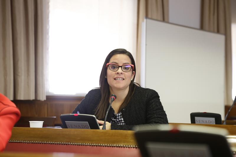 Yaiza Castilla en la Comisin de Igualdad