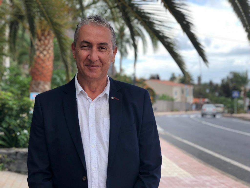 """Aníbal González: """"El año 2018 es el peor año de la historia de la democracia de Valle Gran Rey"""""""