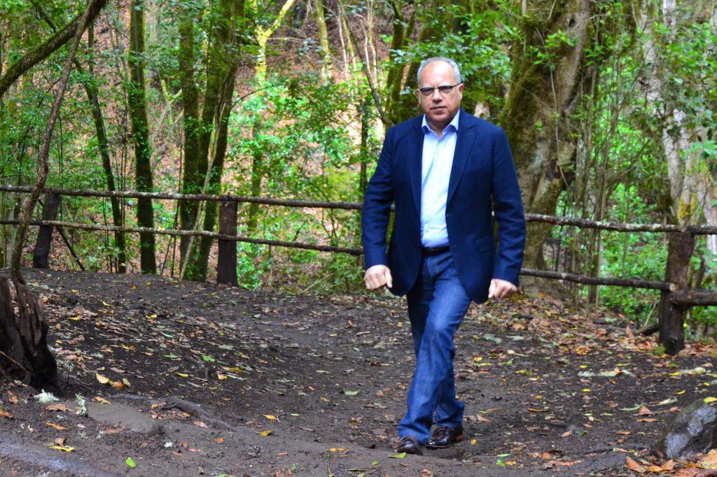 """Curbelo: """"Estamos preparados para asumir la gestión directa del Parque Nacional de Garajonay"""""""