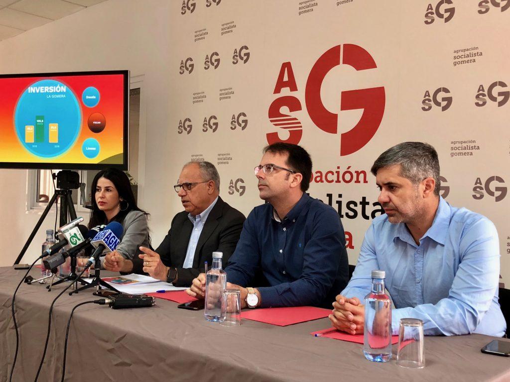 """Curbelo: """"La Gomera dispondrá de recursos para avanzar en igualdad de oportunidades y servicios que el resto de Islas"""""""