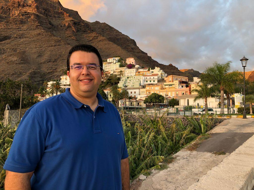 """Borja Barroso: """"En Valle Gran Rey la limpieza y el mantenimiento de los espacios públicos no importan"""""""