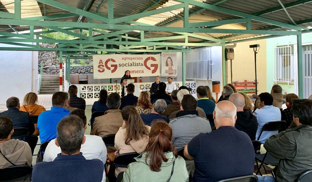 ASG acerca sus propuestas a Hermigua en un acto que reunió a militantes y simpatizantes